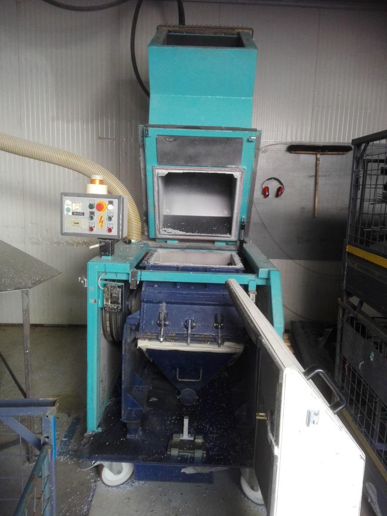 Rauch bei Maschine