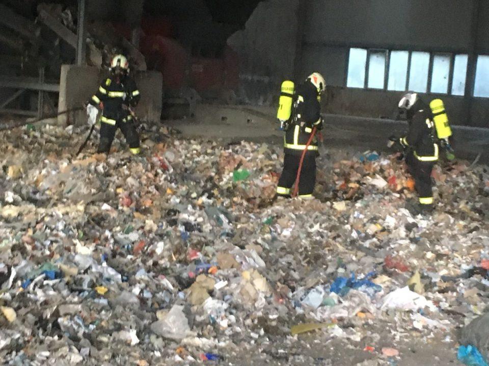 Brand Mülldeponie